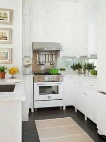 Pictures Of Small Kitchens With White Cabinets 10 Beautiful All White Kitchens Megan Morris