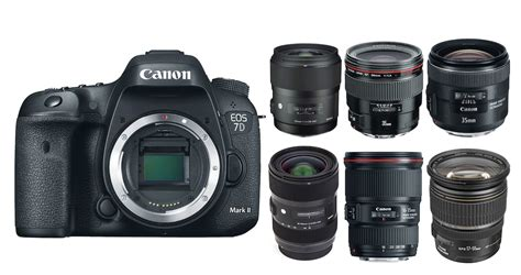 which canon is the best best canon eos 7d ii lenses