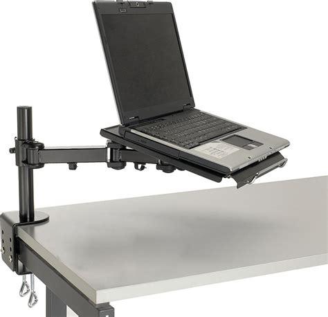 laptop desk mount arm desk mounted laptop arm review and photo