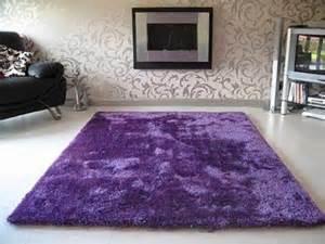 purple rug it looks so fluffy purple