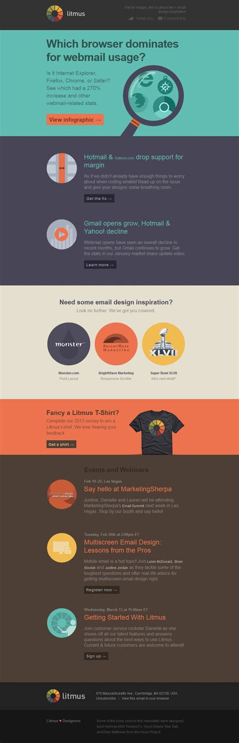 19 Best Emails Product Launch Images On Pinterest Email Newsletter Design Email Newsletters Litmus Newsletter Templates