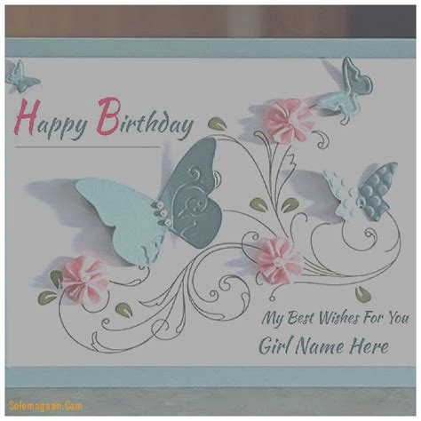 Birthday Card With Name Generator Birthday Cards Best Of Birthday Card With Name Generator
