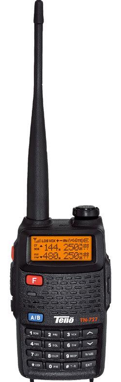 radio komunikasi ht teno tn 727 jual radio komunikasi