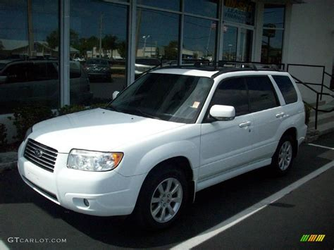 White Subaru by 2006 Subaru Forester White Www Imgkid The Image