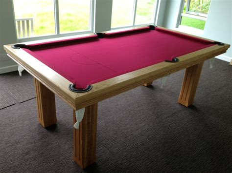 royal modern bespoke uk pool table with square fluted legs