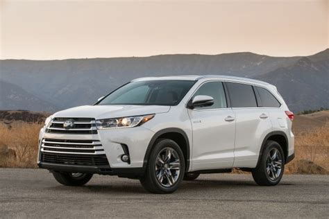 toyota highlander hybrid 2018 2018 toyota highlander hybrid changes release date 2018