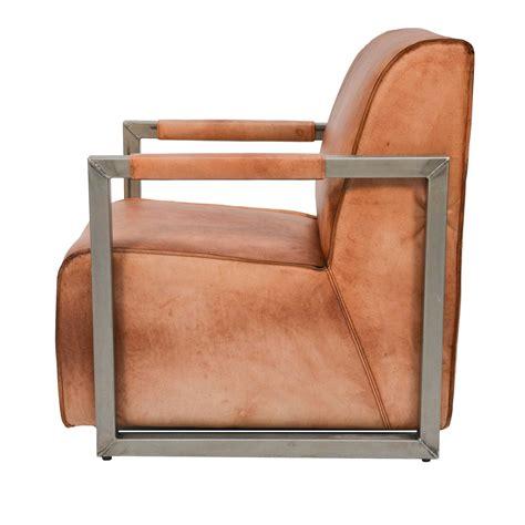 sessel industrial lounge sessel leder trendy uno ledersessel with