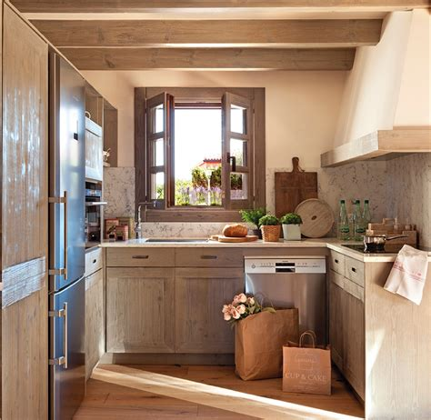 fotos de cocinas pequenas pequenas modernas integrales