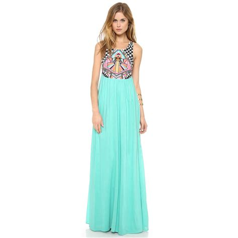 Maxi Dressers mara hoffman s cosmic embroidered maxi dress clothdresses