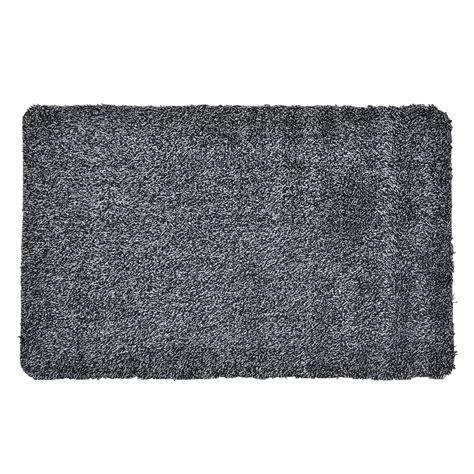 absorbent barrier floor door mat cotton blend non slip
