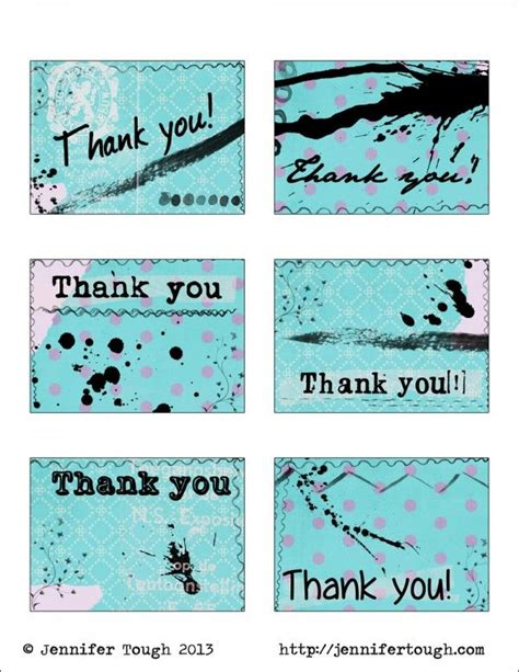 freebie thank you tags art silhouttes templates and