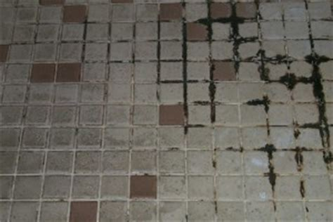 cleaning dirty bathroom tiles cleaning floor and shower grout