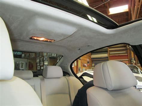 Car Upholstery Los Angeles by Suede To Compliment The Interior Markel S Auto