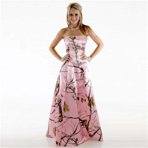 aliexpress dresses aliexpress com buy 2016 camo bridesmaid dresses pink