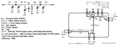 varactor diode harmonic generator s radio corner varactor tripler