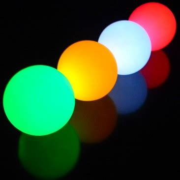 led light up balls oddballs juggling