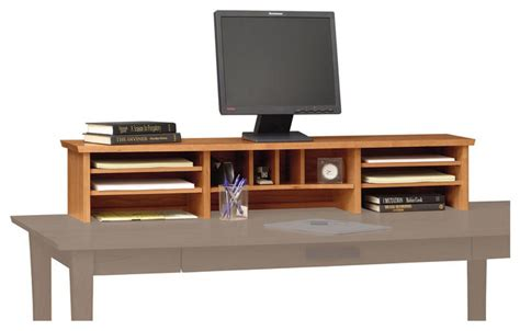 Desk Top Organizer Hutch Copeland Furniture Berkeley Desktop Organizer Cognac Cherry Craftsman Desks And Hutches