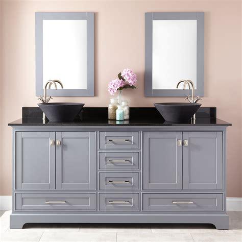 quen double vessel sink vanity gray double sink vanities bathroom vanities bathroom