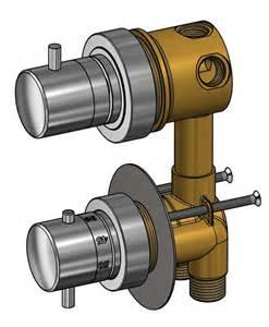 robinet mitigeur thermostatique pour cabine de avec
