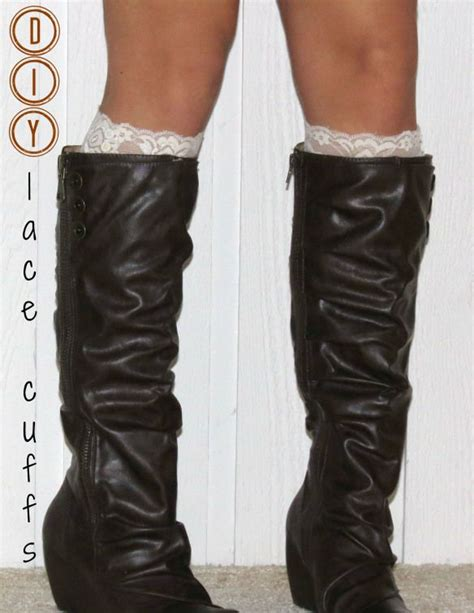 diy sock booties 17 best images about diy boot cuffs on lace