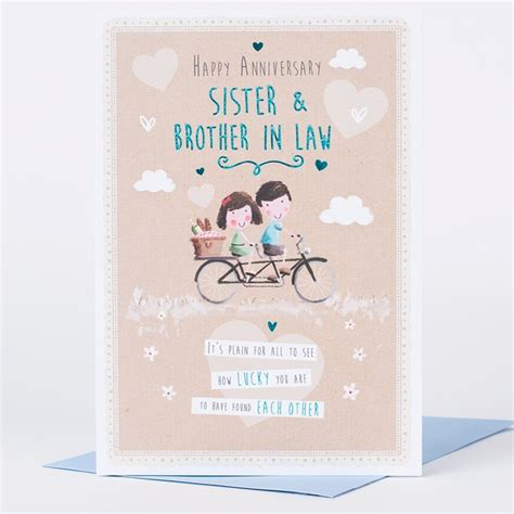 wedding anniversary gift ideas  sister  brother
