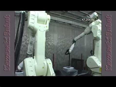 kawasaki robot motosiklet kaporta plastik boyama kf