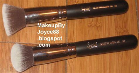 Jual Sigma Kabuki Brush makeupbyjoyce review sigma f80 flat top f82 top synthetic kabuki brush