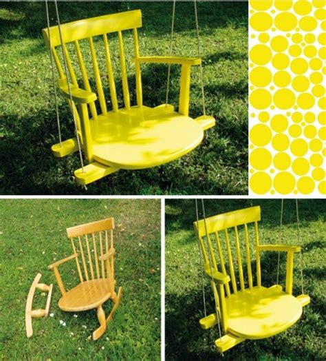 diy swing chair 10 diy adorable tree swings