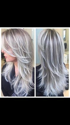 how do you put highlights in salt and pepper hair gray highlights in brown hair blond highlights cover