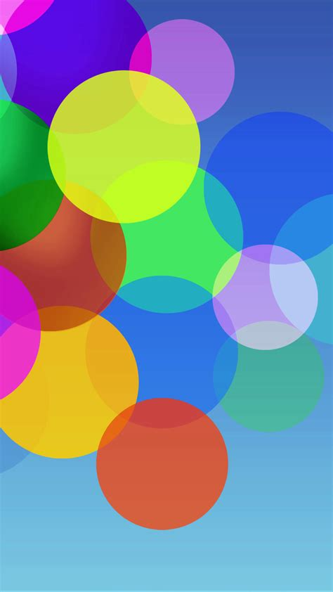 colorful wallpaper for android mobile colorful minimal circles bubbles android wallpaper free
