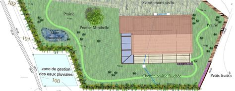 plan de jardin paysager en ligne croquis et dessin de