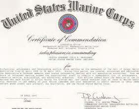 pin certificate of commendation template log in on