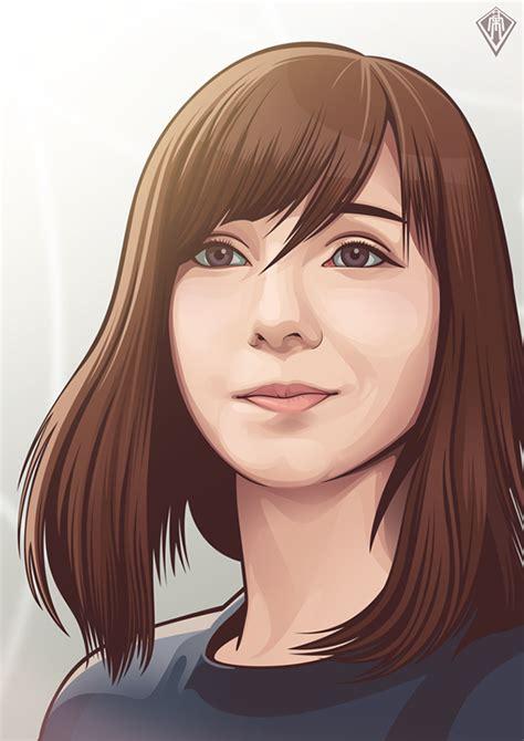 vexel portraits   behance