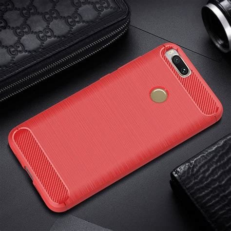 Xiaomi Mia1 Mi A1 Softcase Carbon Fiber top 6 accessories for xiaomi mi a1