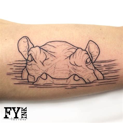 hippo tattoo best 25 hippo ideas on animal logo
