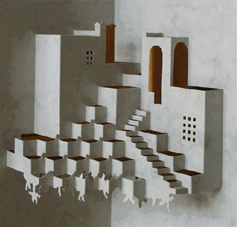 origamic architecture stunning sculptures cut out of