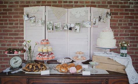 Tea Party Themed Bridal Shower   Pretty My Party