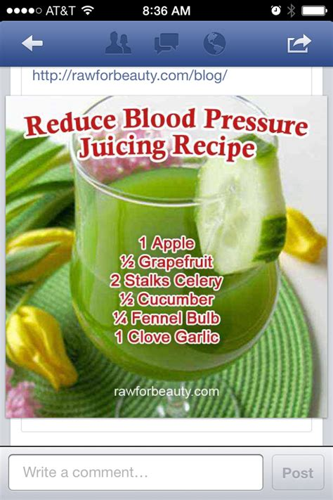 juice to lower blood pressure home remedies