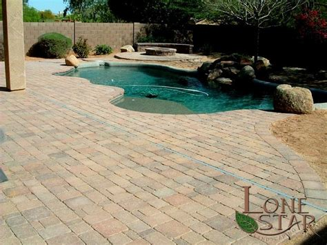 swimming pool pavers 27 best images about pavers on pinterest swimming pool
