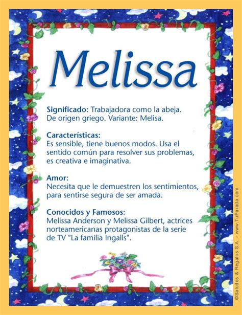 significado del nombre rosario origen nombres de nio melissa significado del nombre melissa nombres