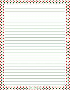 printable stationery without lines printable fall polka dot stationery and writing paper