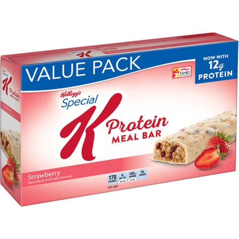 5 protein bars a day kellogg s special k strawberry protein meal bars 1 59 oz