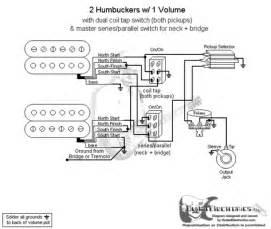 2 humbucker series parallel wiring diagrams single phase