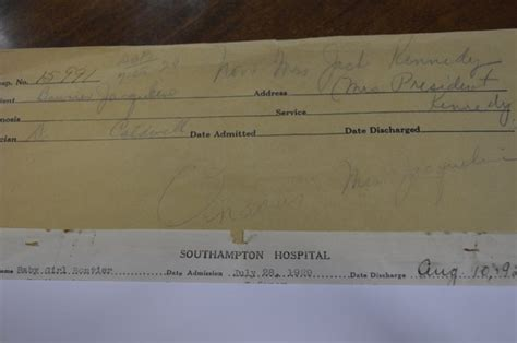 Boston Birth Records Southton Hospital Donates Birth Records To Kennedy Museum Southton 27east