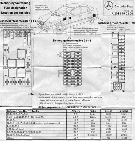 2002 mercedes s500 fuse box diagram wiring diagram