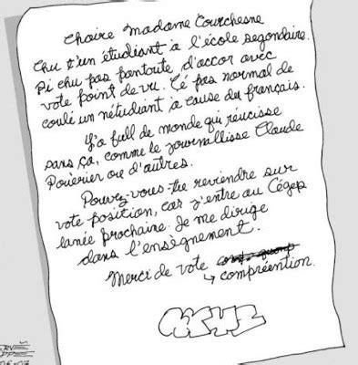 Exemple De Lettre Humoristique Les Touskis De Gi Lettre 192 La Ministre De L 201 Ducation