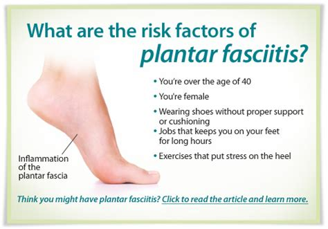 what increases the risk of developing plantar fasciitis