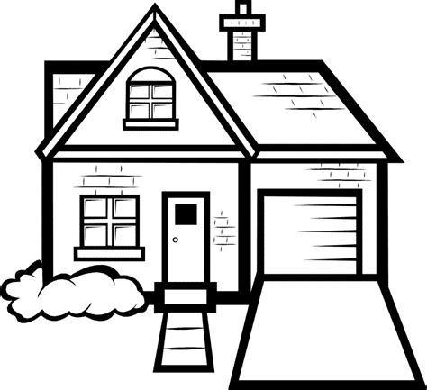 how to color a house house coloring pages images house color page family people