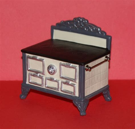 miniature dollhouse kitchen furniture porcelain stove white dollhouse miniature kitchen