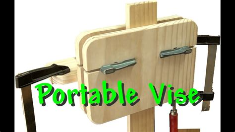 portable wood vise   diy workshop youtube
